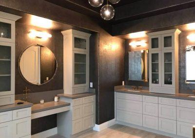 Custom glass shower door in Orange County 4
