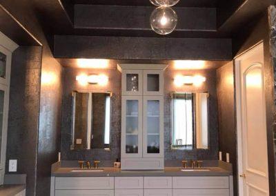 Custom glass shower door in Orange County 6