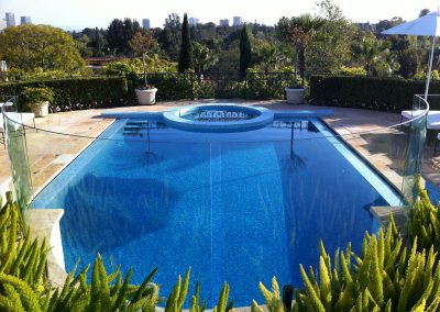 Glass Fence for swimming pools 1