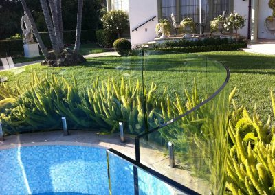 Glass Fence for swimming pools 3