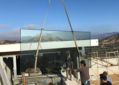 Installing Custom Doors Glass in OC3