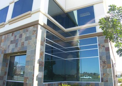 glass and glazing in OC 40