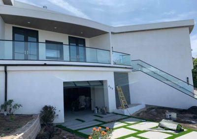 glass railing in Newport Beach 2