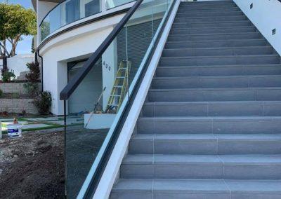 glass railing in Newport Beach 6