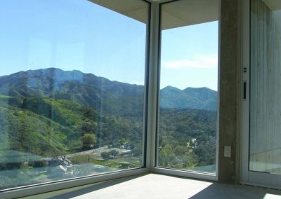 Silverado Canyon - Installing oversize Insulated glass by latour builders 2