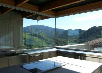 Silverado Canyon - Installing oversize Insulated glass by latour builders 3
