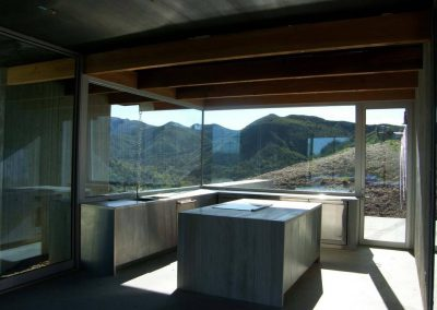 Silverado Canyon - Installing oversize Insulated glass by latour builders 4