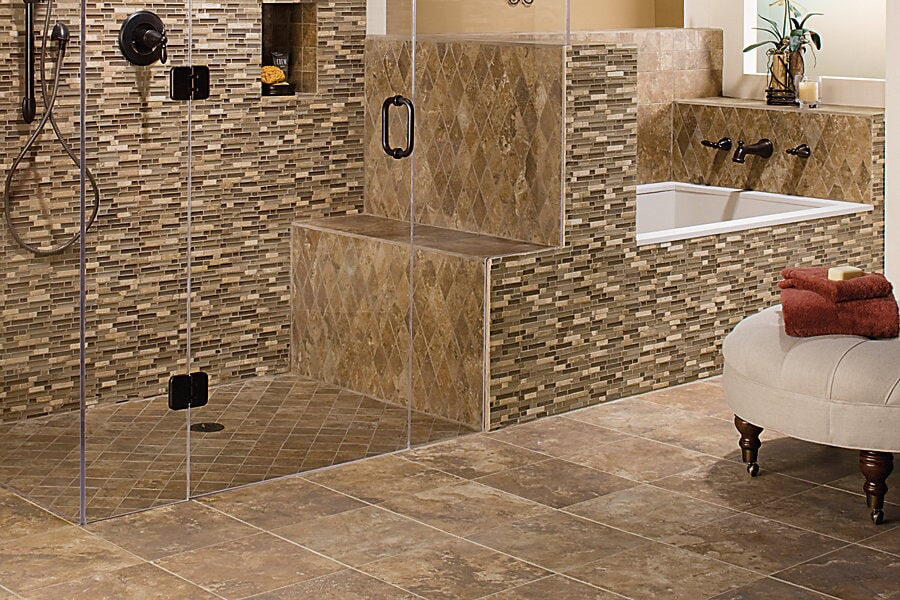 Unconventional Tile Accents in Mission Viejo