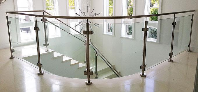 Glass railings in Mission Viejo CA